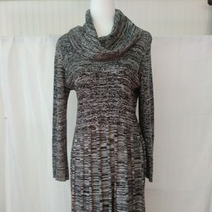 Calvin Klein Fit and Flare Sweater Dress.